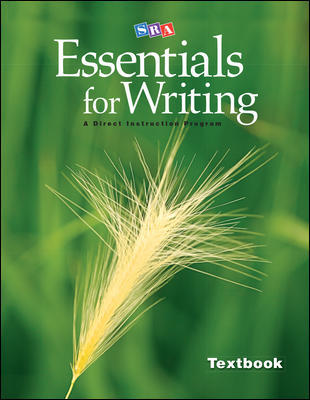 Essentials for Writing (prep for high school)